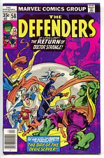 Defenders 58 Marvel 1st Series 1978 NM- Hulk Dr Strange Avengers Iron Man