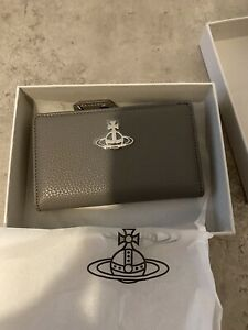 Vivienne Westwood Johanna Flap Purse Wallet New