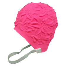 BLUE REEF Latex Rose Ladies Floral Fancy Dress Synchronised Swimming Hat Cap Accessories Hats & Headgear