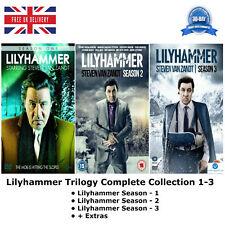 TRILOGIA LilyHammer Stagione 1-3 Complete Collection 1 2 3 + Extra Nuovo Regno Unito R2 DVD