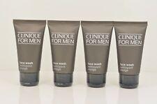 4 Clinique For Men Face Wash Brand New Travel Size 1.7 oz Each x 4 = 6.8 oz