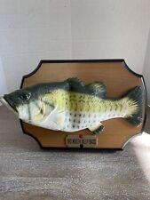 Big Mouth Billy Bass Singing Wall Fish 1999