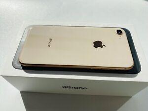 Apple iPhone 8   256GB   GOLD   UNLOCKED   A1897   MINT   Ref 4