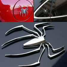 1x 3D Metal  Spider Logo Car Sticker Emblem Truck Motor Badge Accessories Decal