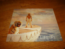 THE LIFE OF PI Oscar ad Best Visual Effects, Richard Parker the tiger, Ang Lee