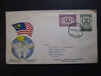 Malaya 1960 World Regufee Series FDC / Light Corner Creases - Z3904
