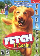 Fetch It Again! PC CD Game by ValuSoft Windows * Love Train Dog Cat * Ship Free