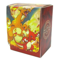 Pokemon center JAPAN - Charmander Charmeleon Charizard Card Deck case Box
