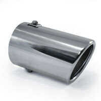Exhaust Tip Trim Pipe Tail Muffler For Ford Focus Mondeo Escort Transit