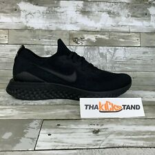 Nike Epic React Flyknit 2 Triple Black Running Fashion BQ8928-011 Mens Sizes