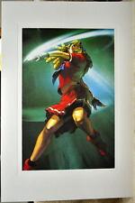 Street Fighter - KARIN LIMITED EDITION PRINT Capcom Arnold Tsang art