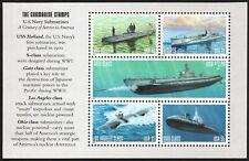 USA Sc. 3377a 33c Submarines 2000 MNH bklt. pane of 5