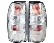 CLEAR TAIL REAR LAMP LIGHT PAIR For 98-01 Mazda Fighter B Series B2500 Bravo