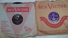"""2 Latin 78 rpm LOS BRIBONES (RCA VICTOR 23-6827 & 23-6648)  """"Corazonada"""" ~  E/N-"""