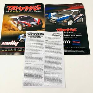 Traxxas Rally Model 7407 Quick Start Guide Manual Pack New