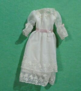 Vintage Barbie Doll Clothes  -  MOD Era Barbie 1870 Midi-Marvelous Dress