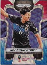 2018 Panini FIFA World Cup Blue Red Wave Prizm (120) Masato MORISHIGE Japan