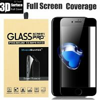 3D Tempered Glass Curved Full Cover Screen Protector For iPhone 8   8 Plus