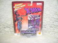JOHNNY LIGHTNING MARVEL THE UNCANNY X-MEN '59 DESOTO PLAYING MANTIS 2002 NIB #9