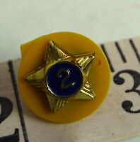 Webelos Scout Service Star 2 Year Pin Vintage 1970s