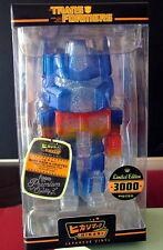 Transformers Optimus Prime Clear Glitter Hikari Sofubi Vinyl Figure - LE 3000