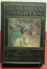 The Arabian Nights HC Year Unknown Ed. R. S. Holland Washington Square Classics