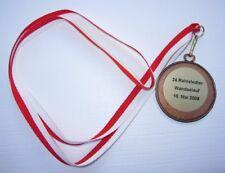 24. Rahlstedter Wandselauf Hamburg 2009 Medaille am Band NEU (A57v)