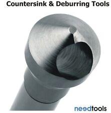 Cross Hole Deburring Tool 90 degree Deburr Countersinks High Speed Steel