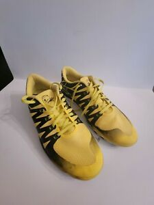 Nike OREGON DUCKS 'Win the day' Flywire Frees 5.0 size 11 Mens Shoes AWESOME!