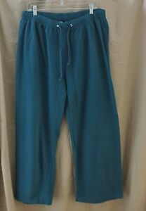 Erica Brooke Collection, Size 14, Blue-Green Track/ Lounge Pant