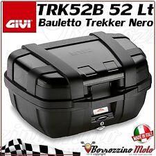 BAULETTO BAULE VALIGIA GIVI TRK52B TREKKER 52 LT ALLUMINIO NERO MONOKEY MOTO