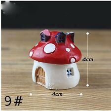2017 Miniature Fairy Garden Ornament Decor Pot DIY Craft Accessories Dollhouse 1pcs MASHROOM Size L