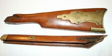 Kentucky Rifle Broken Stock with Brass Hardware including Tang
