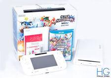 Nintendo Wii U Super Smash Bros Basic Pak 8GB White Console! PAL