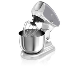 Swan SP33010GRN Retro Die-Cast Stand Mixer 4.5 Litre Stainless Steel Mixing Bowl
