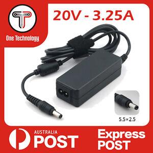 Lenovo IdeaPad SL410 Z580  Z500 Z500A Z500G Power Charger AC Adapter 20V 3.25A