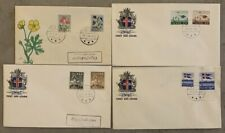 Iceland FDC 1958 Complete set