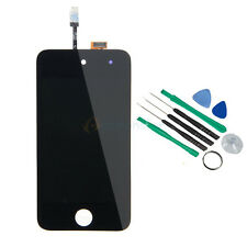 US LCD Screen Touch Digitizer Glass Assembly + 8*Tools for iPod Touch 4 4G Black
