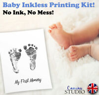 Inkless Wipe Hand & Foot Print Kit Child Newborn Baby Safe Christening Keepsake