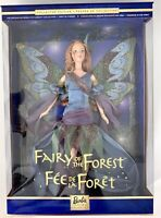 New Mattel 25639 World Of Fairies Collection Fairy Of The Forest Barbie 1999