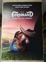 Manifesto Film FERDINAND (2017) Poster Movie Originale Cinema 100x140
