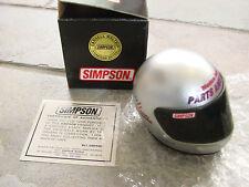 "Simpson mini helmet Darrel Waltrip 3"" Signature Series Western Auto Parts"