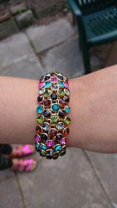 Kirks Folly Multi Coloured Heavyweight Bracelet