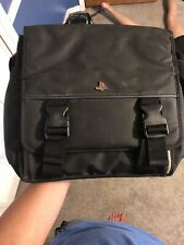 Sony PlayStation 2 PS2 Carrying Case Messenger Travel Bag