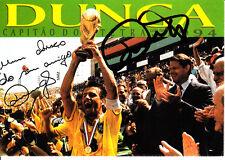Carlos dunga vfb stuttgart Florencia santos brasil campeón mundial 1994