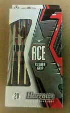 Harrows Ace Rubber Grip 20g Steel Tip Darts 12861 w/ FREE Shipping