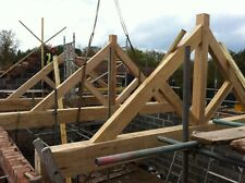 Oak trusses made to your design - green or air dried - oak frames - conservatory