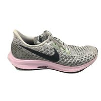 Nike Air Zoom Pegasus 35 Running Shoes Womens Size 8.5 8 1/2 Gray Pin 942855-011