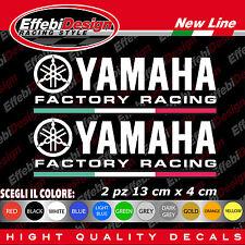 adesivi Stickers YAMAHA FACTORY RACING YEC R1 R6 FZ1 FZ6 TMAX XMAX MT TENERE