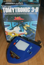 TOMYTRONIC 3D PLANET ZEON RETRO HANDHELD GAME ORIGINAL  1980's BOXED TOMY (181)
